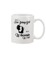JUST A NEW JERSEY GIRL IN A WISCONSIN WORLD Mug thumbnail