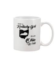 JUST A KENTUCKY GIRL IN AN OHIO WORLD Mug thumbnail