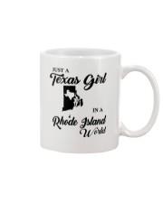 JUST A TEXAS GIRL IN A RHODE ISLAND WORLD Mug thumbnail
