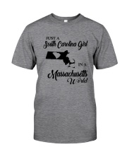A SOUTH CAROLINA GIRL IN A MASSACHUSETTS WORLD Classic T-Shirt thumbnail