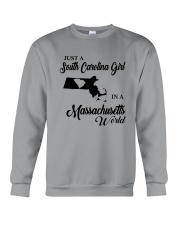 A SOUTH CAROLINA GIRL IN A MASSACHUSETTS WORLD Crewneck Sweatshirt thumbnail