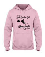 A SOUTH CAROLINA GIRL IN A MASSACHUSETTS WORLD Hooded Sweatshirt front