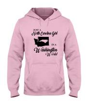 JUST A NORTH CAROLINA GIRL IN A WASHINGTON WORLD Hooded Sweatshirt front