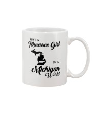JUST A TENNESSEE GIRL IN A MICHIGAN WORLD Mug thumbnail