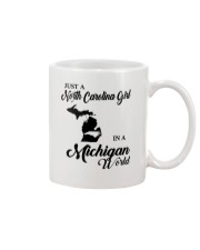JUST A NORTH CAROLINA GIRL IN A MICHIGAN WORLD Mug thumbnail