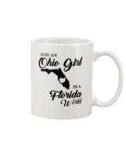 JUST AN OHIO GIRL IN A FLORIDA WORLD Mug thumbnail