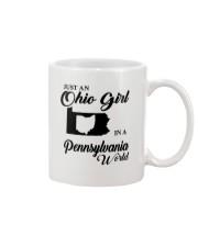 JUST An OHIO GIRL IN A PENNSYLVANIA WORLD Mug thumbnail