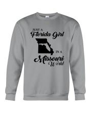 JUST A FLORIDA GIRL IN A MISSOURI WORLD Crewneck Sweatshirt thumbnail