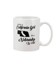 JUST A CALIFORNIA GIRL IN A NEBRASKA WORLD Mug thumbnail