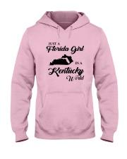 JUST A FLORIDA GIRL IN A KENTUCKY WORLD Hooded Sweatshirt front