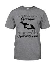 LIFE TOOK ME TO GEORGIA - NEBRASKA Classic T-Shirt thumbnail