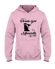 JUST A FLORIDA GIRL IN A MINNESOTA WORLD Hooded Sweatshirt tile