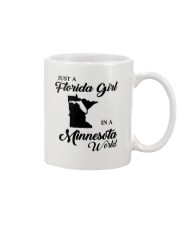 JUST A FLORIDA GIRL IN A MINNESOTA WORLD Mug tile