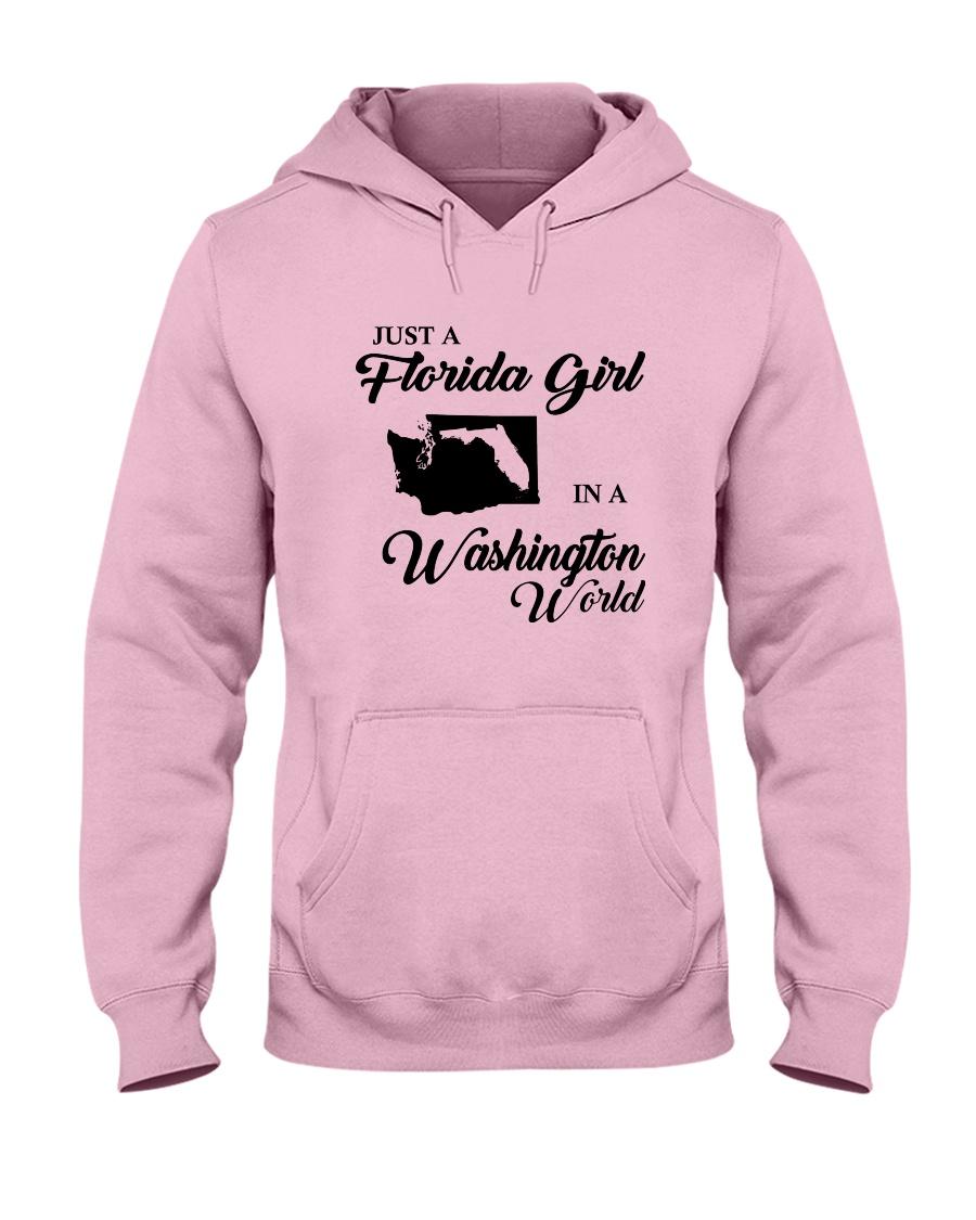 JUST A FLORIDA GIRL IN A WASHINGTON WORLD Hooded Sweatshirt