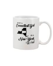 JUST A CONNECTICUT GIRL IN A NEW YORK WORLD Mug thumbnail
