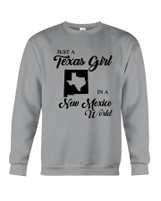 JUST A TEXAS GIRL IN A NEW MEXICO WORLD Crewneck Sweatshirt thumbnail