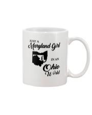 JUST A MARYLAND GIRL IN An OHIO WORLD Mug thumbnail