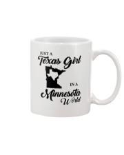 JUST A TEXAS GIRL IN A MINNESOTA WORLD Mug thumbnail