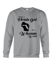 JUST A FLORIDA GIRL IN A WISCONSIN WORLD Crewneck Sweatshirt thumbnail