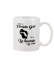 JUST A FLORIDA GIRL IN A WISCONSIN WORLD Mug thumbnail
