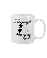 JUST A MICHIGAN GIRL IN A NEW JERSEY WORLD Mug thumbnail