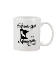 JUST A CALIFORNIA GIRL IN A MINNESOTA WORLD Mug thumbnail