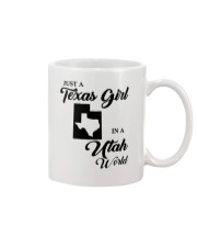 JUST A TEXAS GIRL IN A UTAH WORLD Mug thumbnail