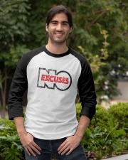 Adult Motivational No Excuses Baseball Tee apparel-baseball-tee-lifestyle05