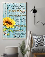 DRF-0106 To my granddaughter 11x17 Poster lifestyle-poster-1
