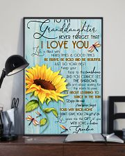 DRF-0106 To my granddaughter 11x17 Poster lifestyle-poster-2
