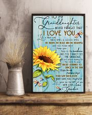 DRF-0106 To my granddaughter 11x17 Poster lifestyle-poster-3