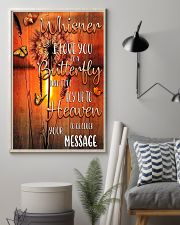 BTF-0102 whisper I love you to a butterfly 11x17 Poster lifestyle-poster-1