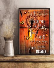 BTF-0102 whisper I love you to a butterfly 11x17 Poster lifestyle-poster-3