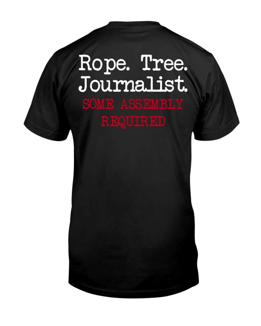 rope tree journalist shirt Classic T-Shirt
