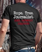 rope tree journalist shirt Classic T-Shirt lifestyle-mens-crewneck-back-2