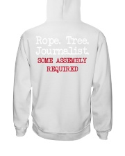 rope tree journalist shirt Hooded Sweatshirt thumbnail
