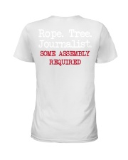 rope tree journalist shirt Ladies T-Shirt thumbnail