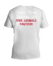rope tree journalist shirt V-Neck T-Shirt thumbnail