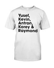 central park 5 t shirt Classic T-Shirt front