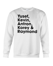 central park 5 t shirt Crewneck Sweatshirt thumbnail