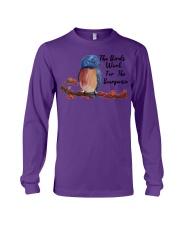 the birds work for the bourgeoisie hoodies Long Sleeve Tee thumbnail