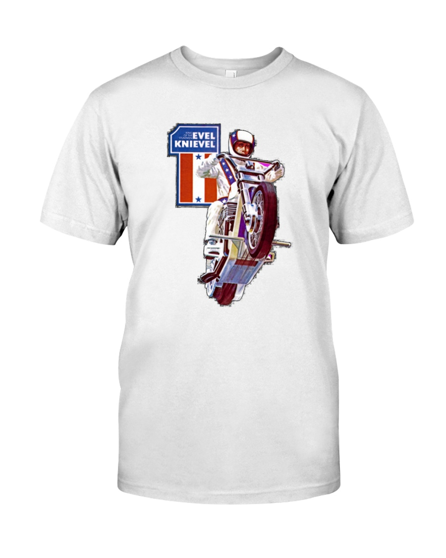 evel knievel shirt Classic T-Shirt