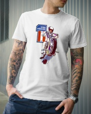 evel knievel shirt Classic T-Shirt lifestyle-mens-crewneck-front-6