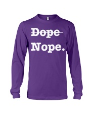 dope or nope merch Long Sleeve Tee thumbnail