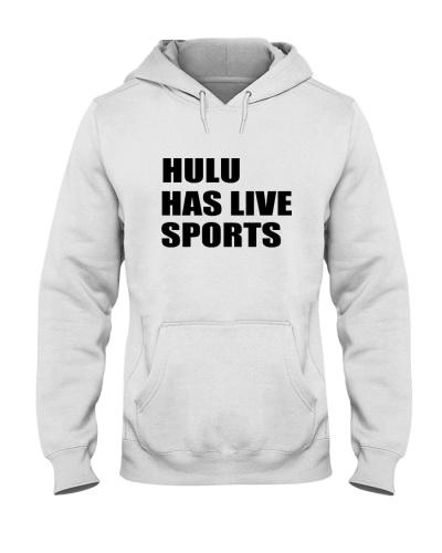 hulu has live sports hoodie