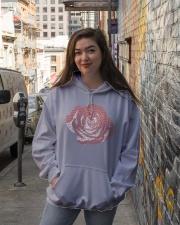 juice wrld hoodie Hooded Sweatshirt lifestyle-unisex-hoodie-front-1