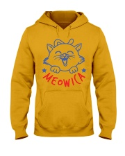 MEOWICA T-SHIRT Hooded Sweatshirt front