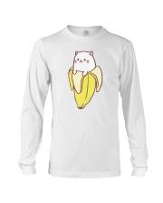 CAT AND BANANA T-SHIRT Long Sleeve Tee thumbnail