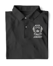Born in January never underestimate Classic Polo front