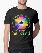 In A World Where You Can Be Anything Be Kind Classic T-Shirt lifestyle-mens-crewneck-front-13